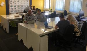 Skanska-eco360-cardboard-desk-install-papworth-hospital-sustainability